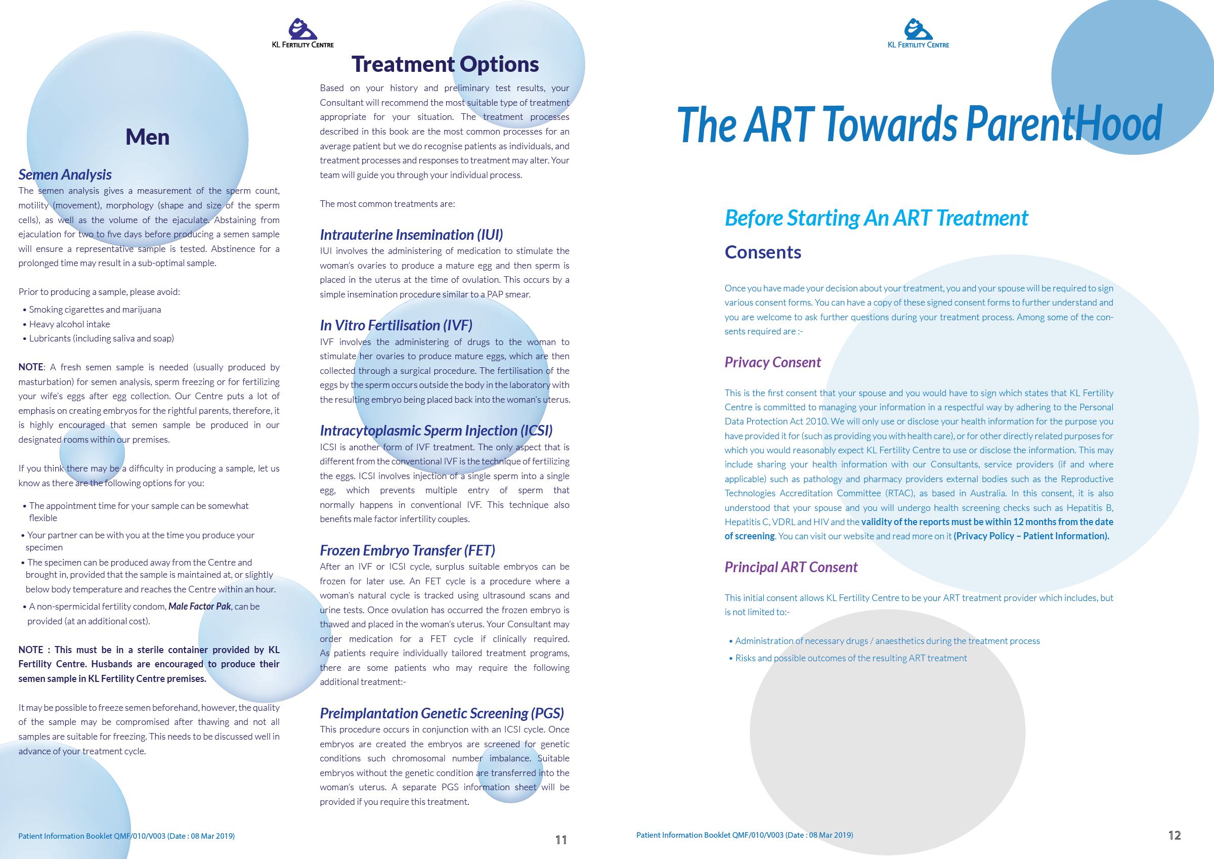 Patient Information Booklet - KL Fertility Centre