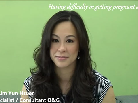 """Having difficulty in getting pregnant again?"" with Dr Helena (English)"
