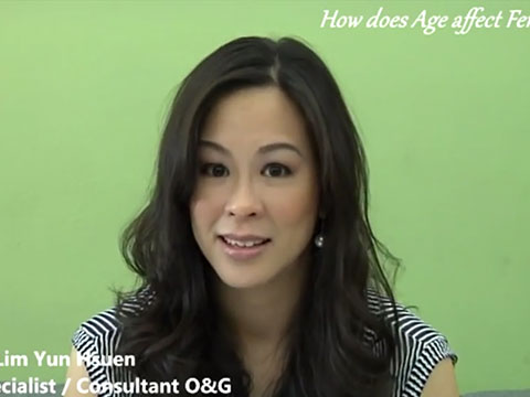 """How does age affect fertility?"" with Dr Helena (English)"