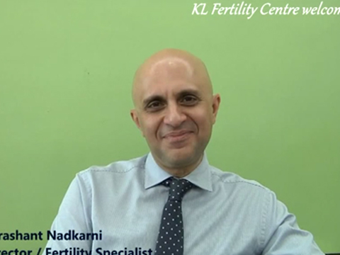"""Welcome to KL Fertility"" with Dr Prashant"