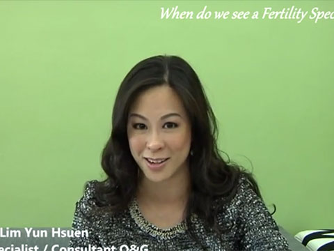 """When do we see a Fertility Specialist"" with Dr Helena (中文)"