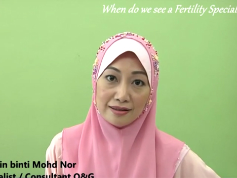 """When do we see a Fertility Specialist"" with Dr Natasha (BM)"