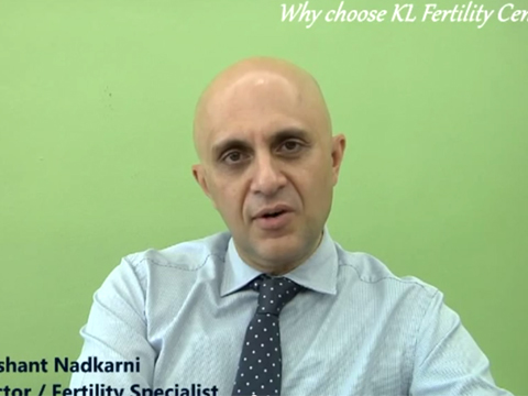 """Why Choose KL Fertility"" with Dr Prashant"
