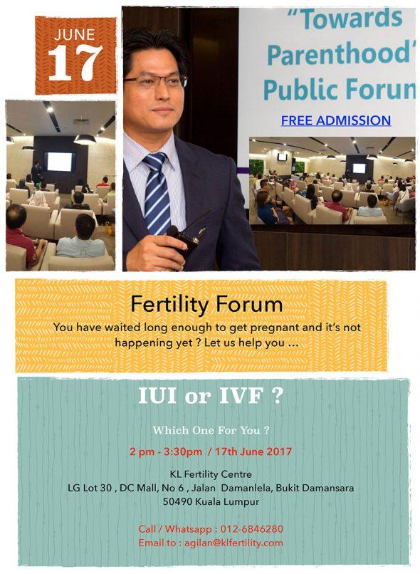 Fertility Forum, 17 June 2017