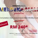 MERDEKA Male Promotion - 53% discount