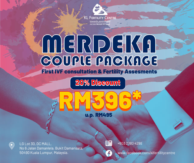 Merdeka Couple Package – First IVF Consultation & Fertility