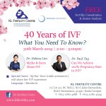 40 Years of IVF: What You Need To Know? - 30th March 2019