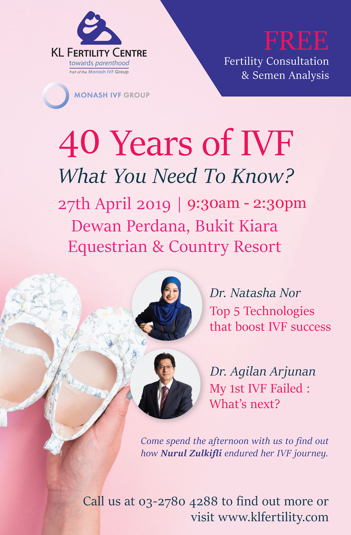 40 Years of IVF: What You Need To Know? - 27th April 2019