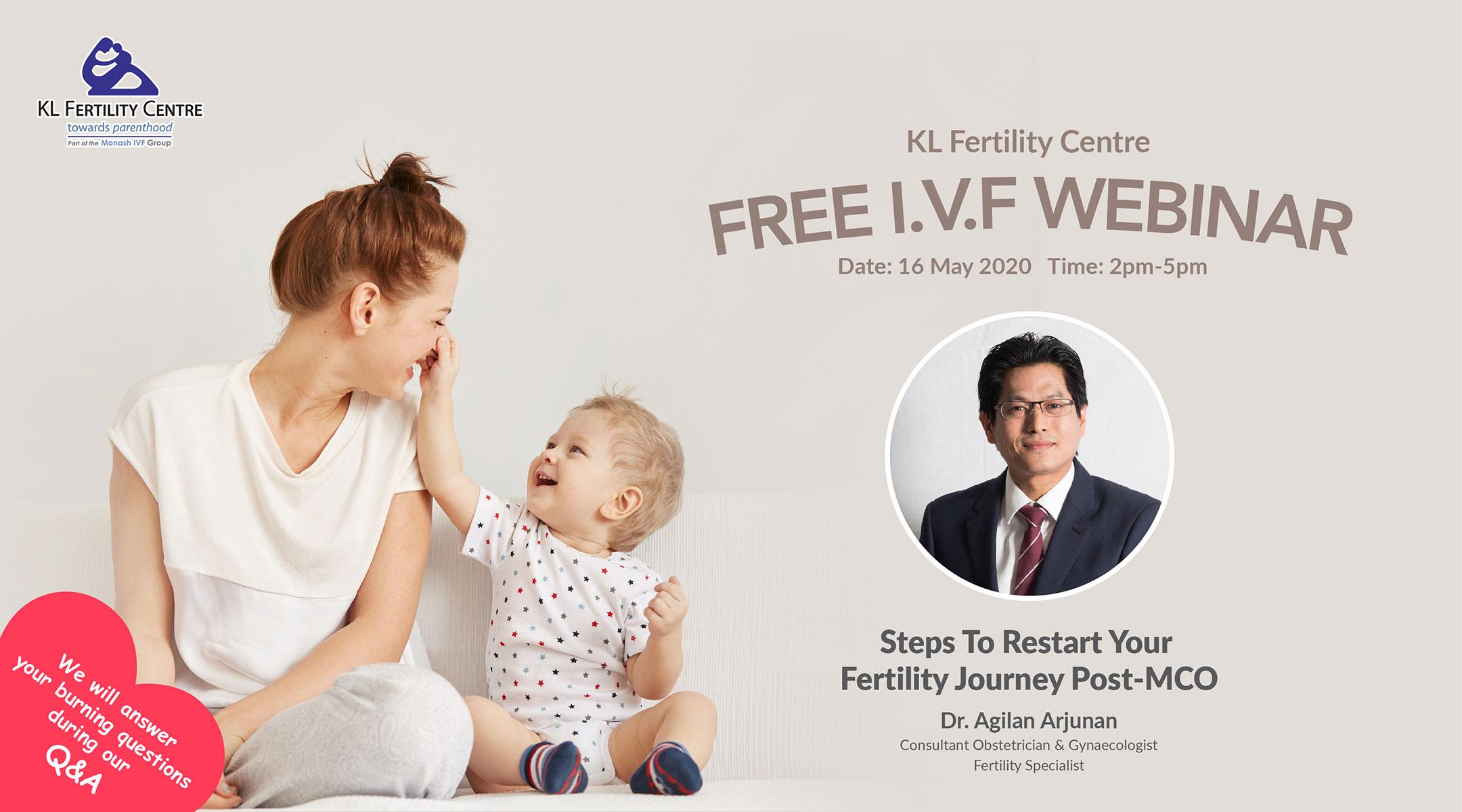 Free IVF Webinar 16 May 2020 - Dr. Agilan Arjunan