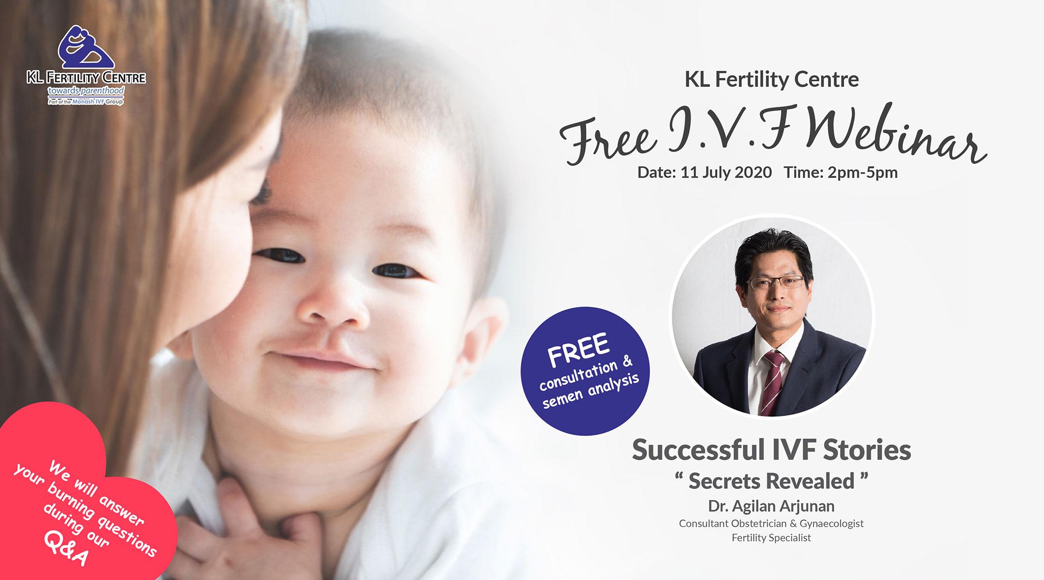 Free IVF Webinar 11 July 2020 - Dr. Agilan Arjunan