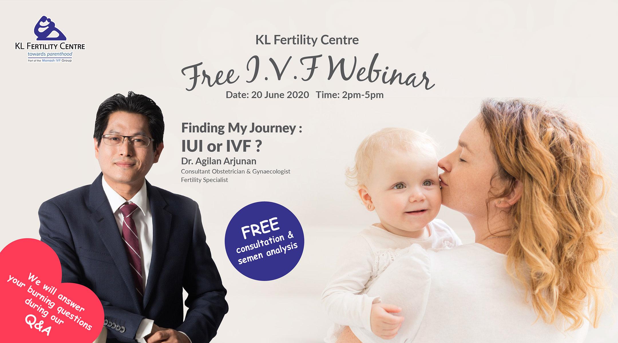 Free IVF Webinar 20 June 2020 - Dr. Agilan Arjunan