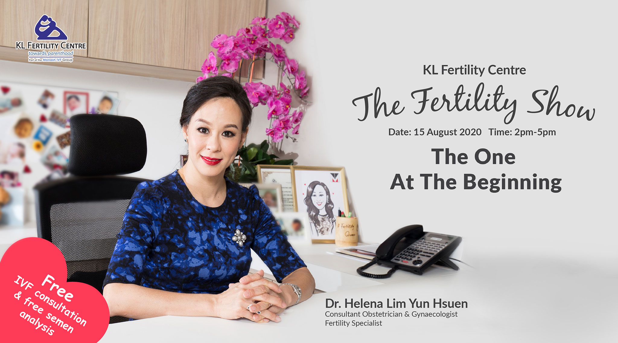 Free IVF Webinar 15 August 2020 - Dr. Helena Lim