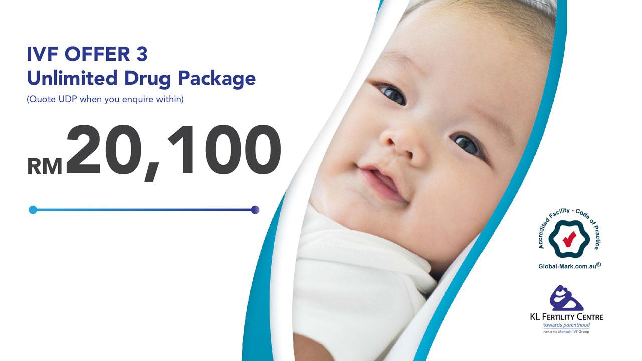 IVF Offer 3 – Unlimited Drug Package