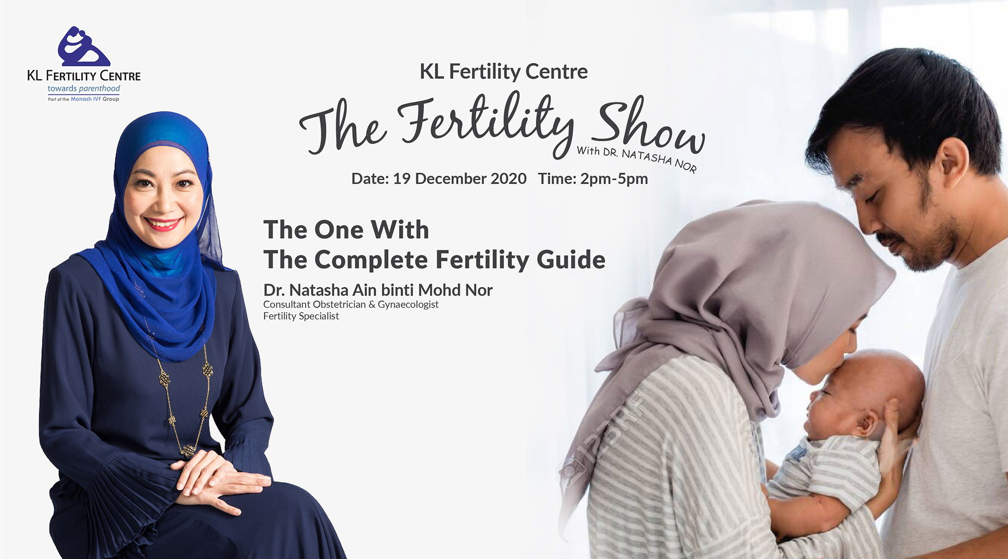 The Fertility Show : The One with the Complete Fertility Guide, 19 December 2020 - Dr. Natasha Nor