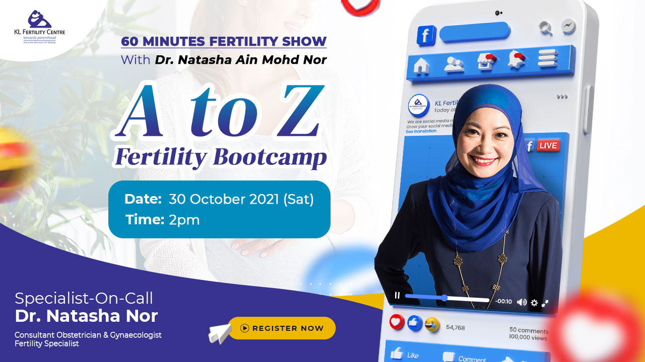 60 Minutes with Dr. Natasha Nor: A to Z Fertility Bootcamp